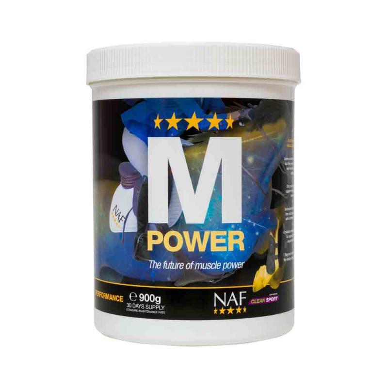 Preparat wspomagający przyrost masy mięśniowej u konia NAF M Power proszek