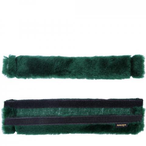 Futerko na paski ogłowia Amigo ciemnozielone