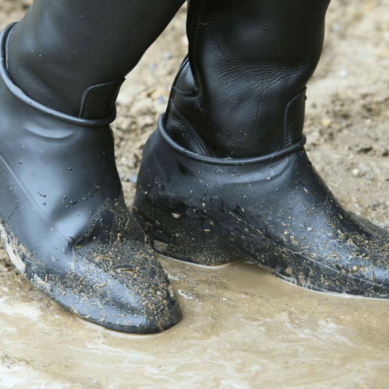 Ochraniacze gumowe na obuwie czarne
