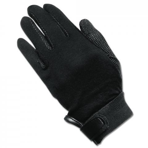 Rękawiczki bawełniane Waldhausen czarne