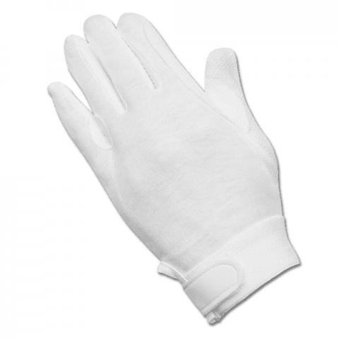 Rękawiczki bawełniane Waldhausen białe