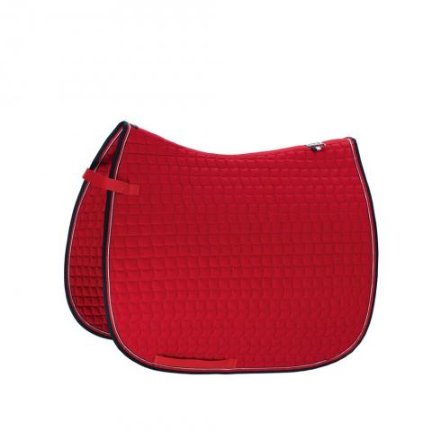 Czaprak Eskadron Basics Cotton chili red, czerwony