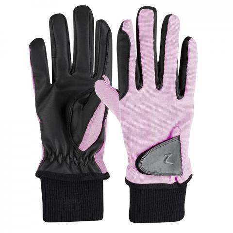 Rękawiczki zimowe Horze Rimma różowe