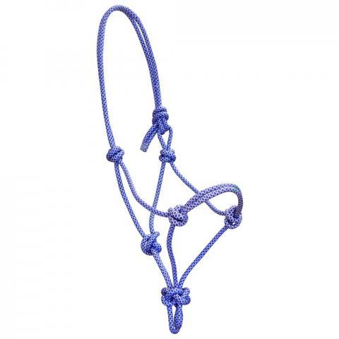 Kantar sznurkowy York Siena niebiesko-srebrny