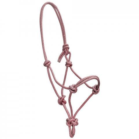Kantar sznurkowy York Siena bordowo-srebrny