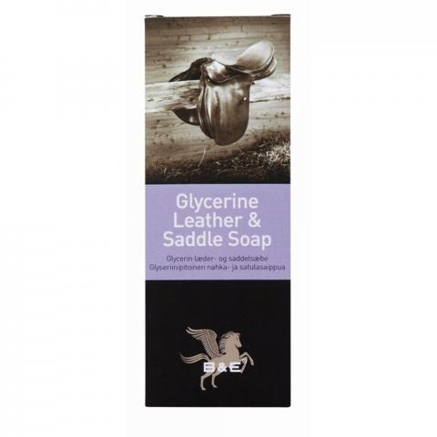 Mydło glicerynowe w kostce do skór B&E Glycerine Leather & Saddle Soap