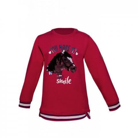 Bluza dziecięca HKM Smiling Heart fuksjowa
