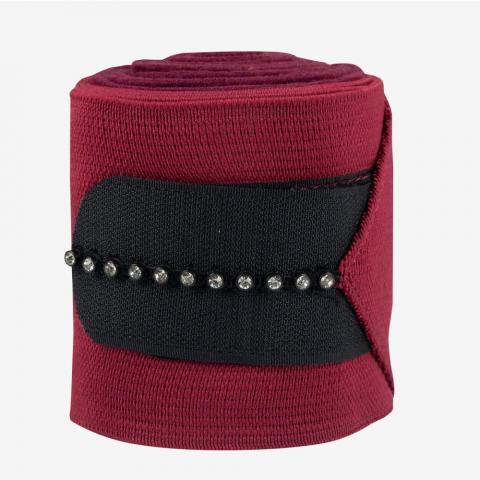 Bandaże polarowo-elastyczne z kryształkami Horze granatowe