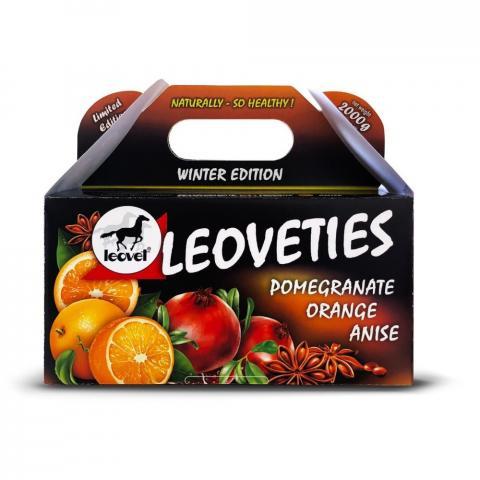 Cukierki zimowe Leoveties granat-pomarańcza-anyż