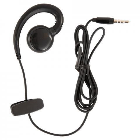 Obrotowa słuchawka do zestawu Whis czarna