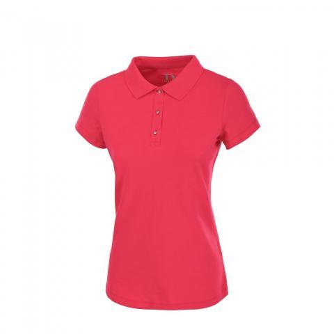Koszulka polo damska Pikeur Gara koralowa