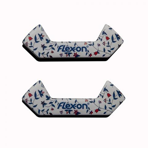 Wkładki magnetyczne do strzemion bezpiecznych Flex-on Cottage białe