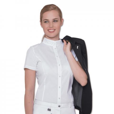 Bluzka konkursowa Cassandra biała
