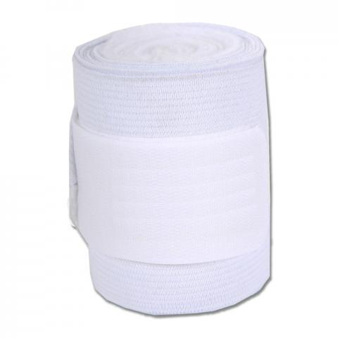 Bandaże polarowo-elastyczne Waldhausen białe 4szt.