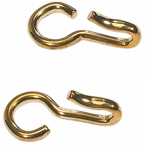 Haczyki do łańcuszka pelhamu lub munsztuka Busse złote
