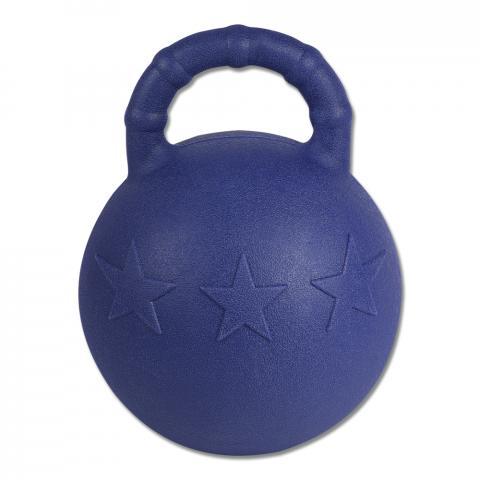 Piłka dla konia Waldhausen twarda granatowa - miętowy smak