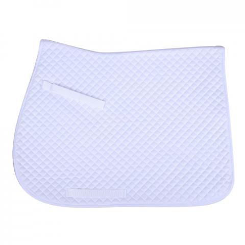 Czaprak QHP Color White, biały