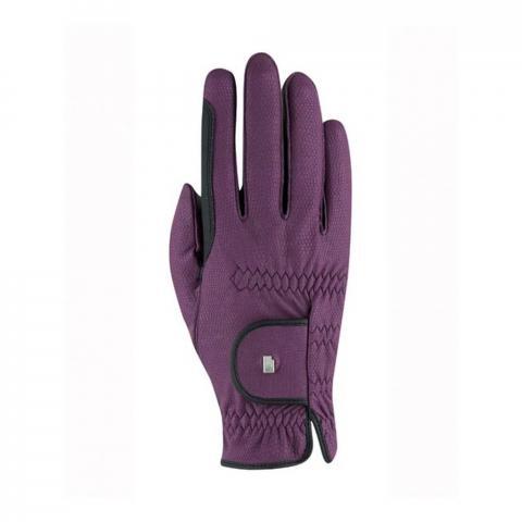 Rękawiczki zimowe Roeckl Malta Winter jeżynowe