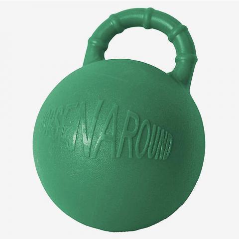Piłka dla konia Horze twarda zielona