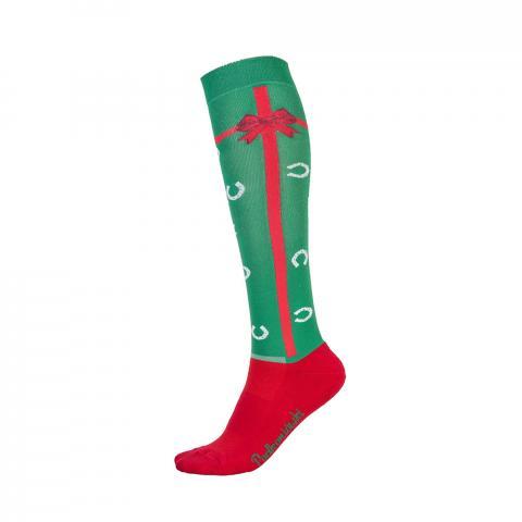 Skarpety bożonarodzeniowe Comodo prezent zielone