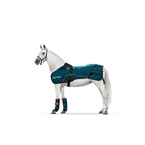 Zestaw terapeutyczny dla konia Bemer - derka + ochraniacze