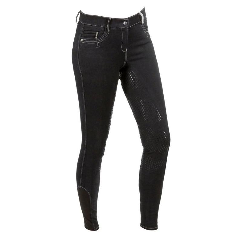 Bryczesy damskie Kerbl- Covalliero Basic Plus czarne