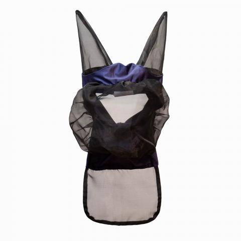 Maska siatkowa Busse czarno-fioletowa