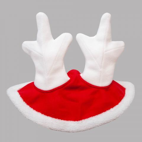 Nauszniki bożonarodzeniowe QHP z rogami renifera