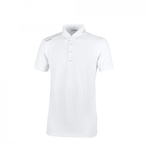 Koszulka konkursowa męska Pikeur Abrod white, biała 2021
