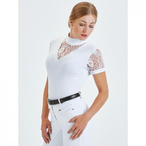 Koszulka konkursowa Busse Ravenna biała