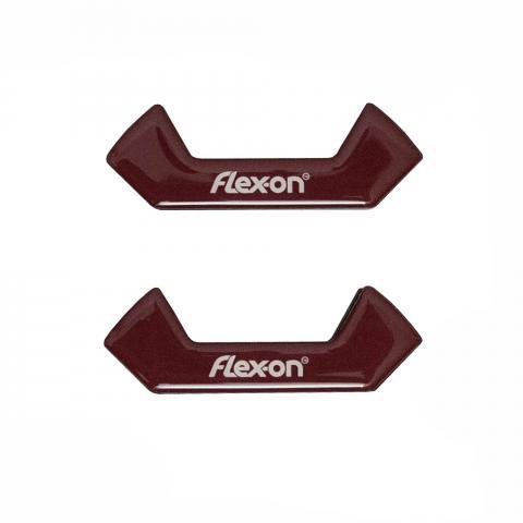 Wkładki magnetyczne do strzemion bezpiecznych Flex-on bordowe