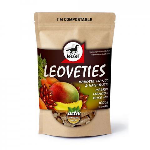 Cukierki Leoveties mango + marchew + dzika róża