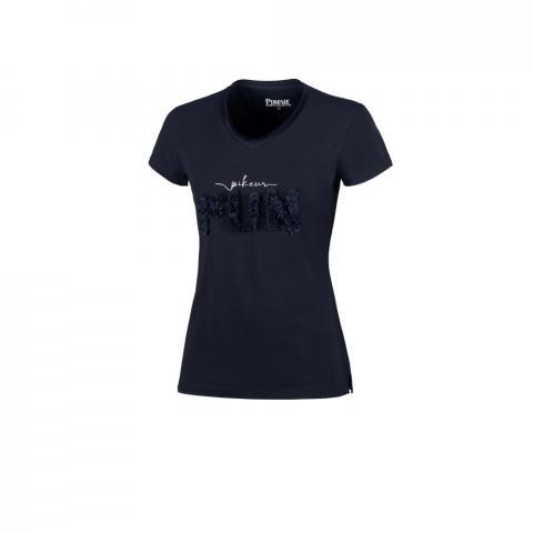 Koszulka damska Pikeur Afral Navy, granatowa 2021