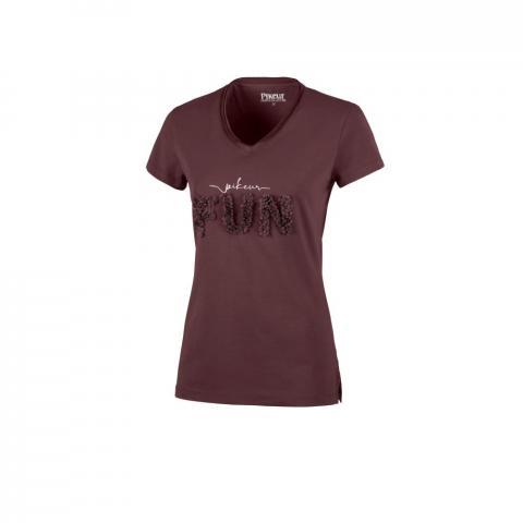 Koszulka damska Pikeur Afral śliwkowy, light aubergine 2021