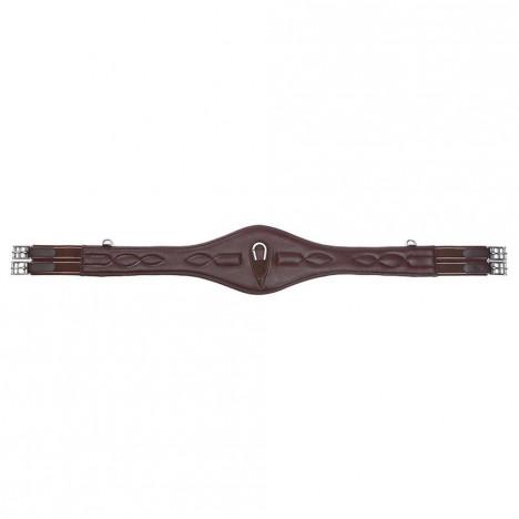 Popręg skórzany Kavalkade Comfort brązowy