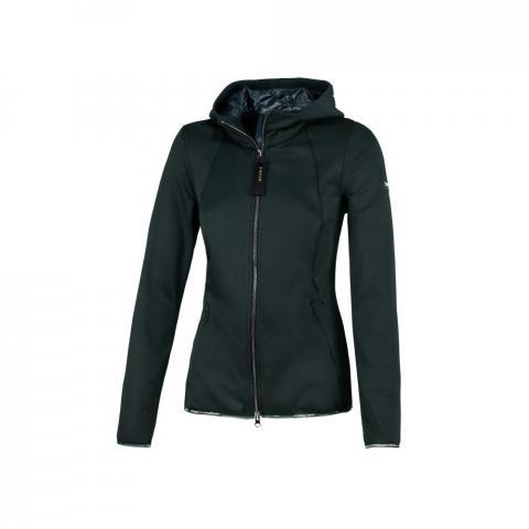 Bluza rozpinana z kapturem Pikeur Lova Dark Green, zielona 2021