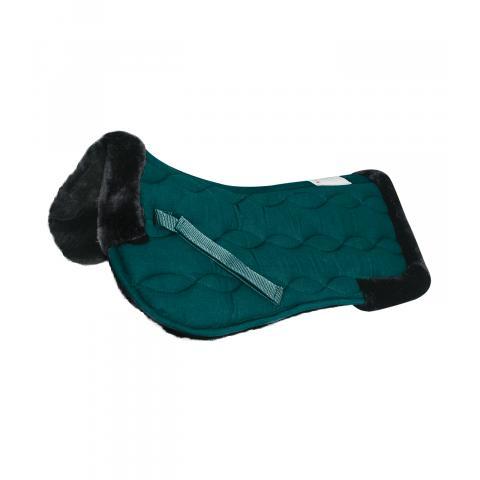 Podkładka futerkowa pod siodło Waldhausen zielono-czarna