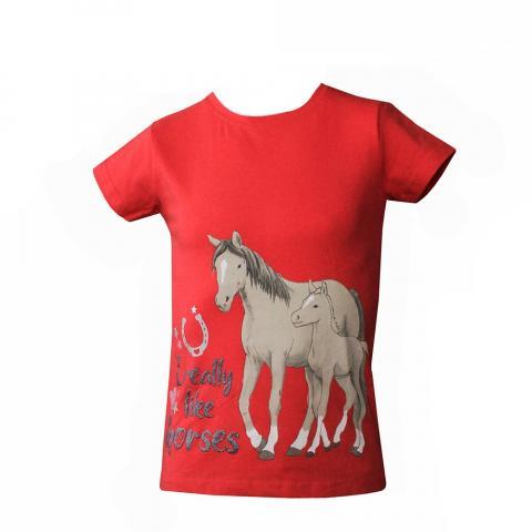 Bluzka dziecięca HKM Little Pony malinowa