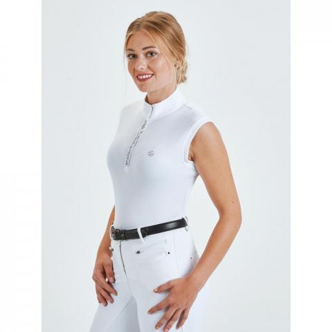Koszulka konkursowa damska Busse Ferrara biała
