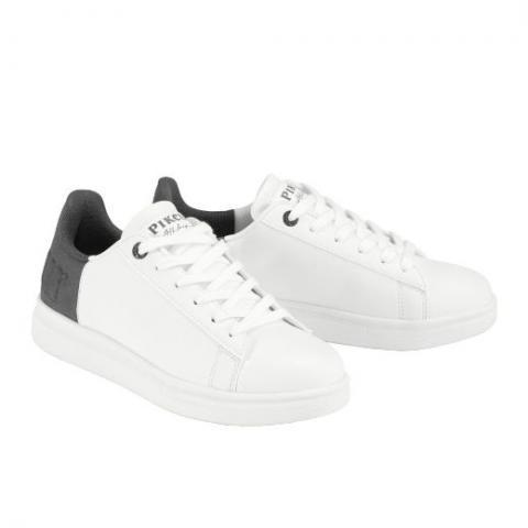 Sneakersy Pikeur Lia Velour White, białe 2021