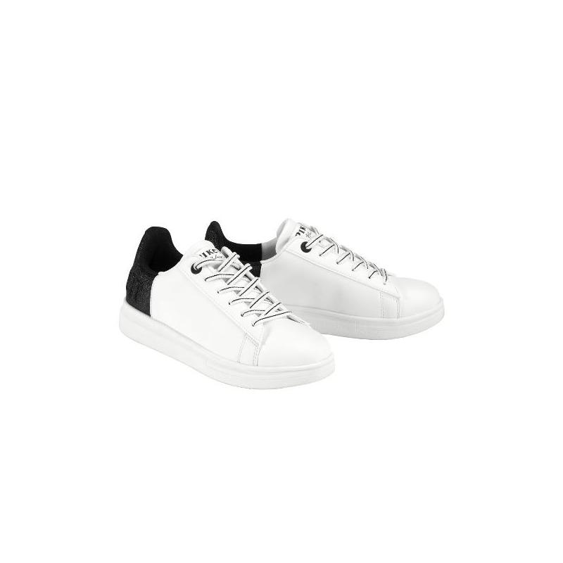 Sneakersy Pikeur Lia Glitter white, białe 2021