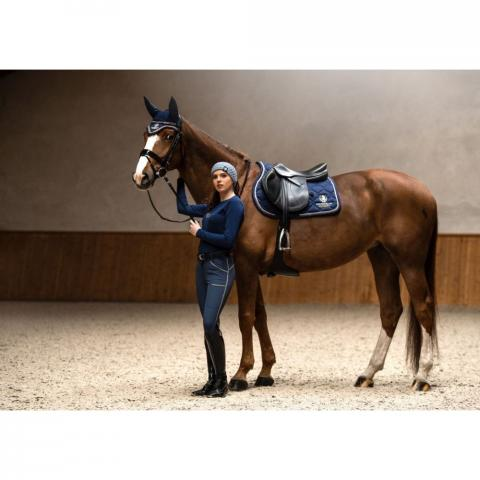 Czaprak Equestrian Queen Paris granatowy