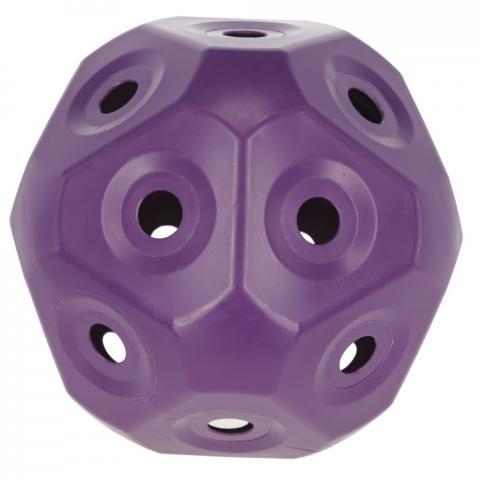Piłka - pojemnik na siano Kerbl fioletowa - małe oczka