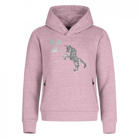 Bluza młodzieżowa Waldhasuen Hoody Lucky Frieda, różowa