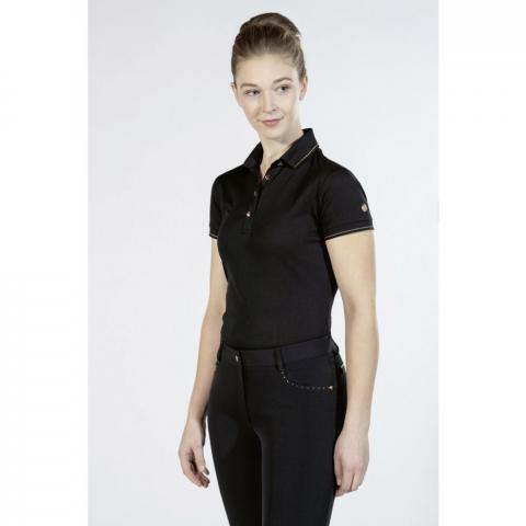 Polo HKM Rosegold Glamour czarne