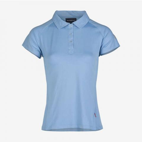 Koszulka Polo Damska Horze Adelaide Limited Edition błękitna