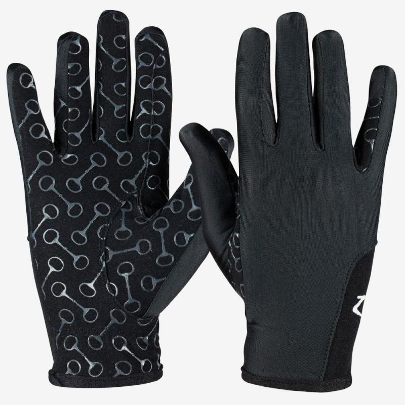 Rękawiczki dziecięce Horze czarne