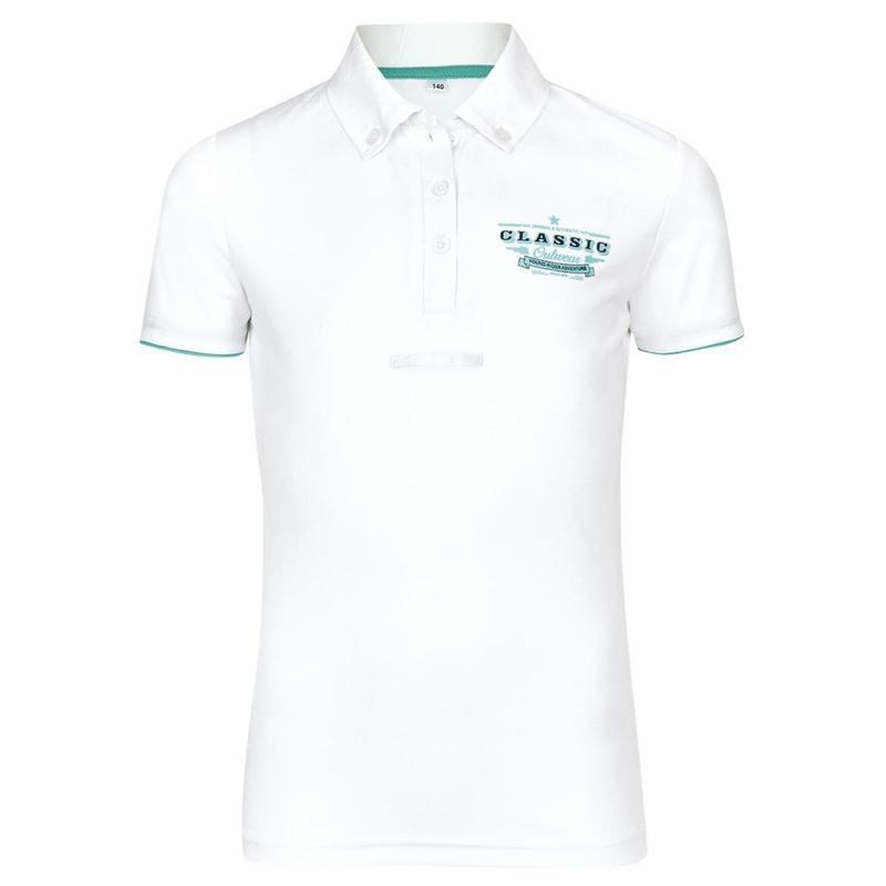 Koszulka konkursowa Busse Anton-Junior biała
