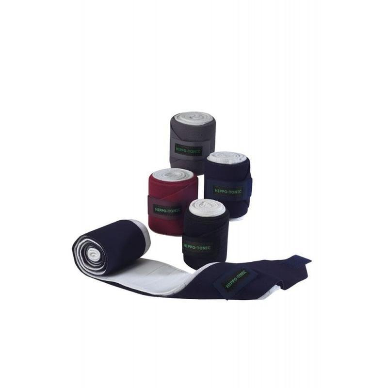 Bandaże elastyczne z podkładem Ekkia bordowe