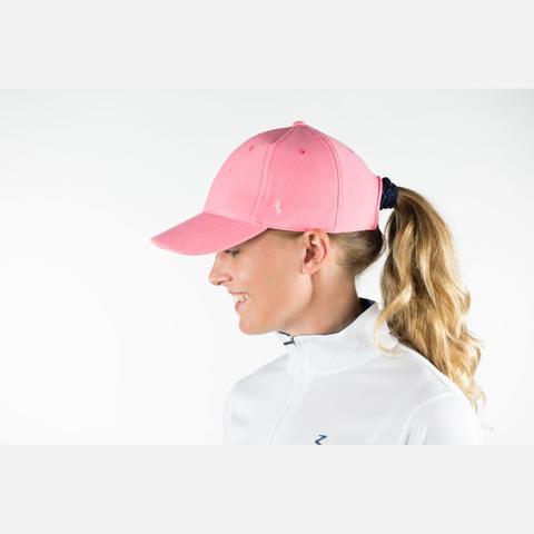 Bejsbolówka Horze różowa